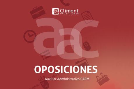 oposicion auxiliar administrativo carm
